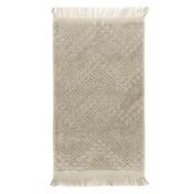 Boheme Beige Guest Towel, Cotton-2ea
