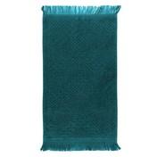 Boheme Blue Petrol Guest Towel, Cotton-2ea
