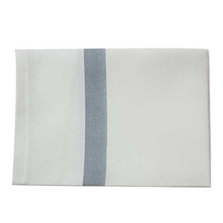 Bistro Natte Zinc Stripe Napkin, Cotton-4ea picture