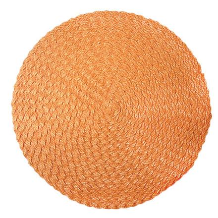 Rosette Orange Vinyl Placemat picture