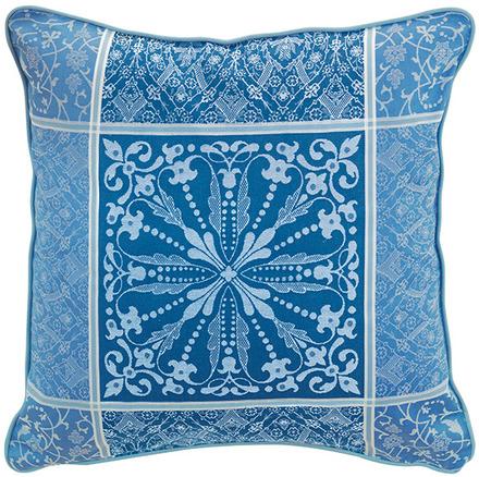 """Cassandre Saphir Cushion Cover  20""""x20"""", 100% Cotton picture"""