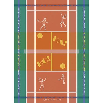Tennis Terre Battue Kitchen Towel, Cotton picture
