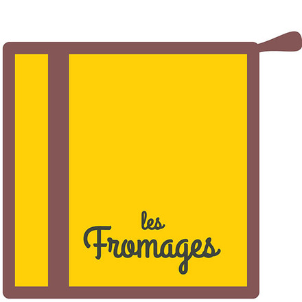 Les Fromages Moutarde Pot Holder picture