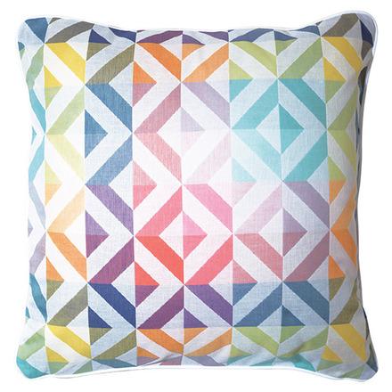 """Mille Twist Pastel Cushion Cover 16""""x16"""" , Cotton-2ea picture"""