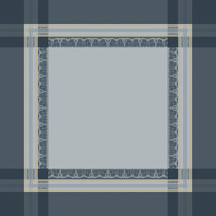 """Napkin Galerie Des Glaces Argent 21""""x21"""", Cotton - 4ea picture"""