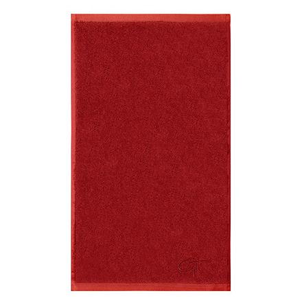 Ligne Bambou Terracotta Guest Towel - 2ea picture