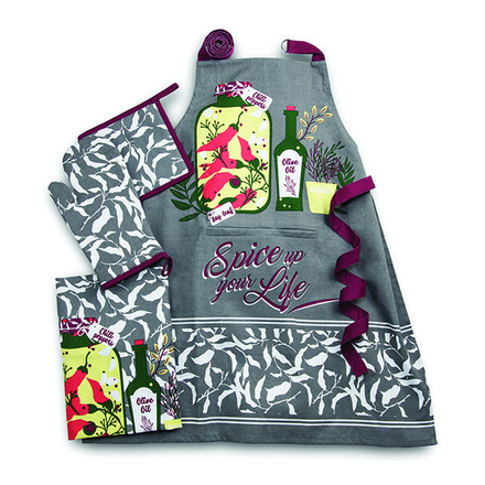 Spice Up Your Life Beet Kitchen Set picture
