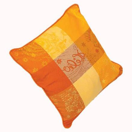 Cushion Cover Sm Mille Couleurs Soleil, Cotton - 2ea picture