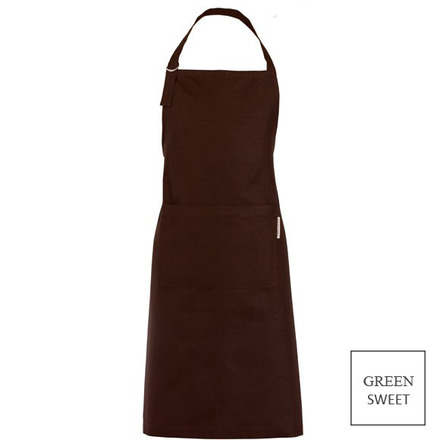 """Apron Canelle Cacao 31x39"""", Green Sweet picture"""