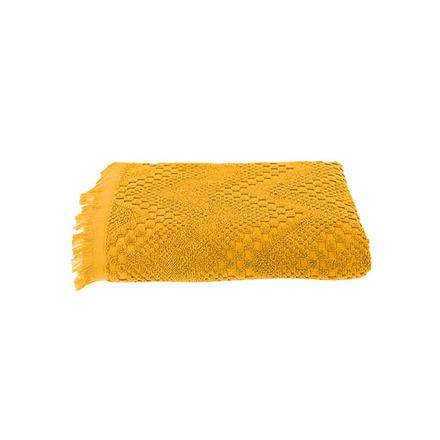 """Hand Towel Boheme Curry 20""""x39"""", Cotton - 2ea picture"""