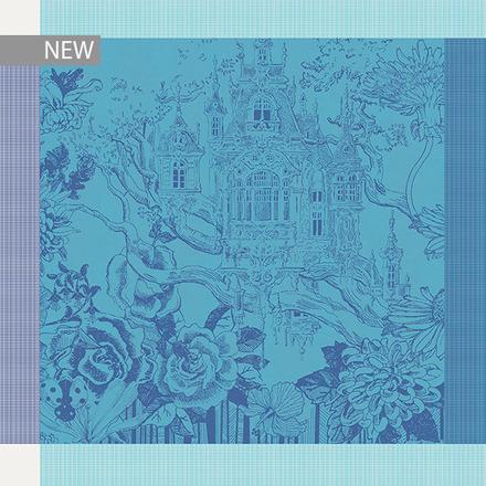 """Paradis Blue Napkin 21""""x21"""", 100% Cotton picture"""