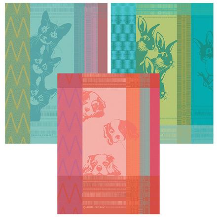 Petits Chats Bleu Kitchen Towel, Cotton picture