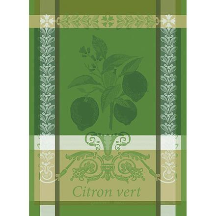 """Citron Vert Vert Acide Kitchen Towel 22""""x30"""", 100% Cotton picture"""