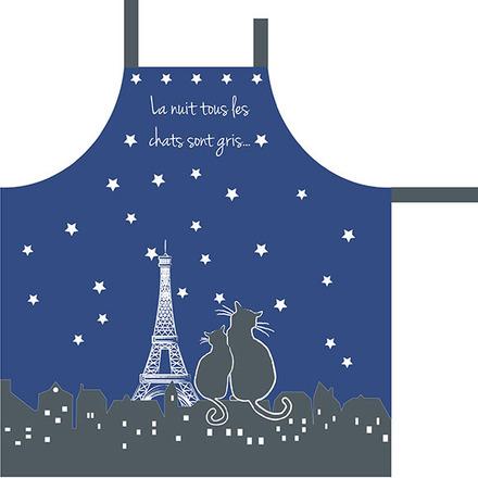 Paris la Nuit Ciel Etoile Apron picture