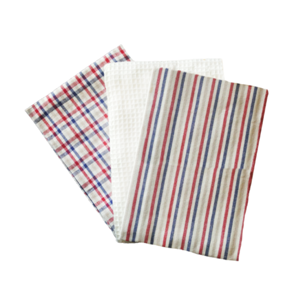 Country Summer Kitchen Towels - 3PC SET picture