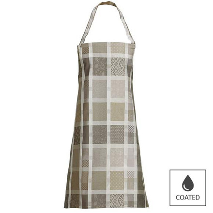 "Mille Ladies Argile Apron 30""x33"", Coated Cotton picture"