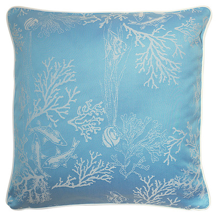 "Mille Coraux Ocean Cushion Cover 20""x20"", 100% Cotton picture"