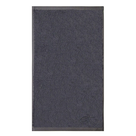 """Ligne Bambou Blue Guest Towel 12""""x20"""", Bamboo/Cotton picture"""