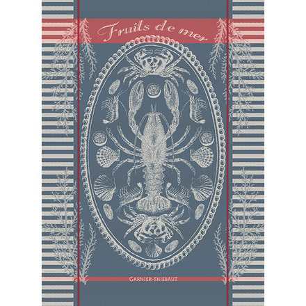 "Kitchen Towel Maree Bretagne 22""x30"", Cotton - 1ea picture"