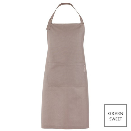 """Apron Canelle Beige 31x39"""", Green Sweet picture"""