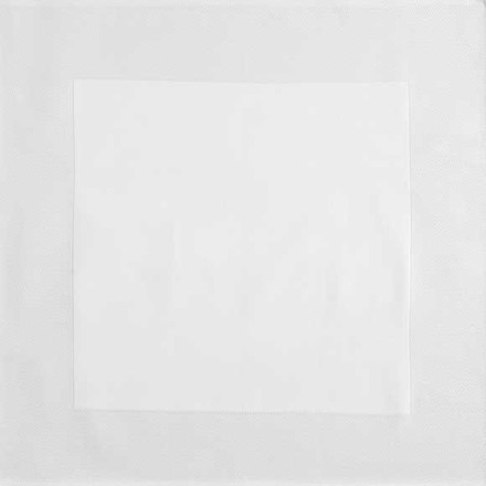 "Partridge Eye Border White Napkins 22""x22"", Set of 4, Cotton picture"