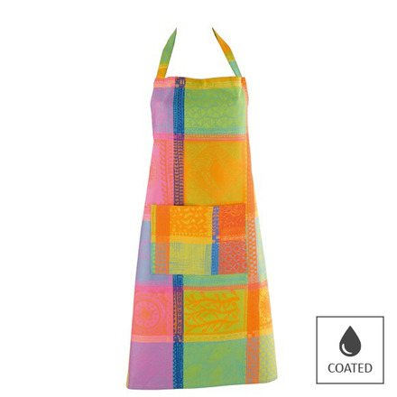 "Mille Wax Creole Apron 30""x33"", Coated Cotton picture"