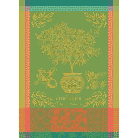 Citronnier Vert Kitchen Towel, Cotton picture