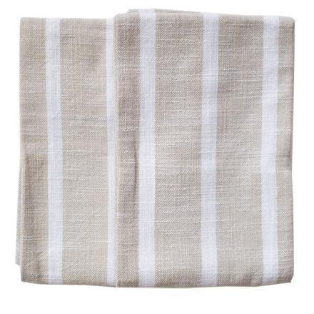 Dobby Stripes Natural Kitchen Towels - SET of 2ea picture