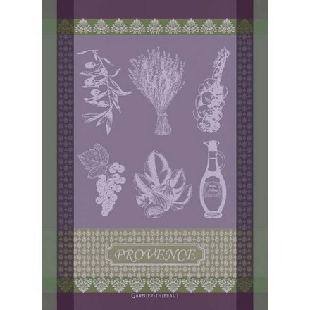 "Provence Lavande Kitchen Towel 22""x30"", 100% Cotton picture"