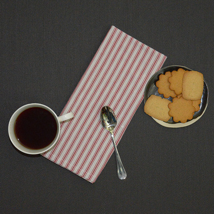 Columni Red Napkin, Cotton-4ea picture