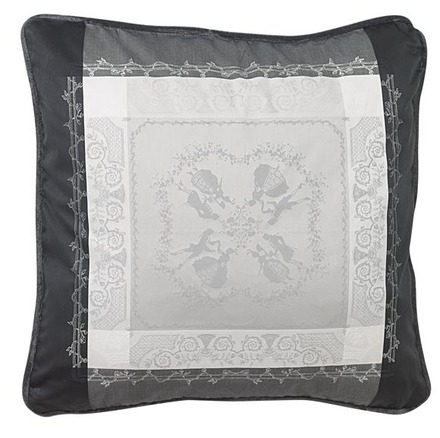 "Cushion Cover Bagatelle Flanelle 20""x20"", cotton - 2ea picture"