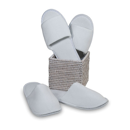 Slippers Closed toe Waffle White One size picture
