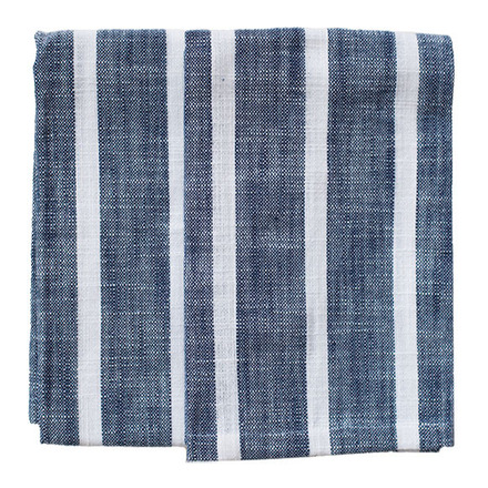 Dobby Stripes Blue Kitchen Towels - SET of 2ea picture
