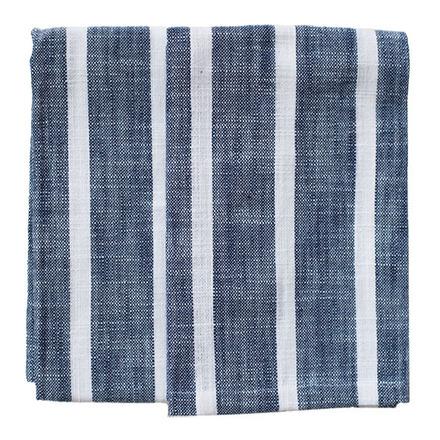 Blue Dobby Stripe 2pcs Kitchen Towel Set picture