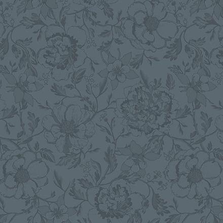 "Napkin Mille Charmes Grey 22""x22"", Cotton - 4ea picture"