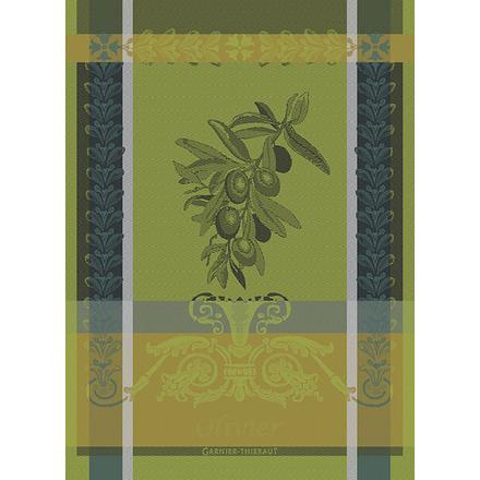 "Olivier Vert Brumeux Kitchen Towel 22""x30"", 100% Cotton picture"