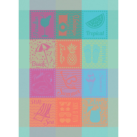 Plage Miami Kitchen Towel, Cotton picture