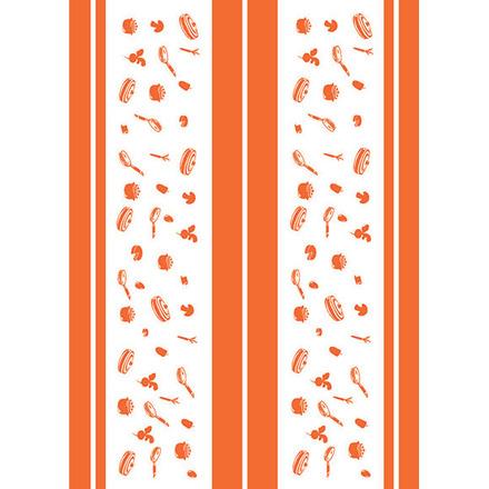 La Cocotte Papaye Printed Kitchen Towel picture