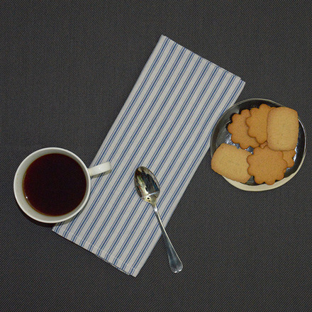 Columni Blue Napkin, Cotton-4ea picture