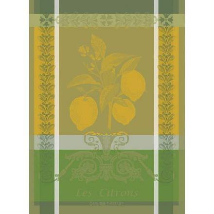 "Citron Zeste Kitchen Towel 22""x30"", 100% Cotton picture"