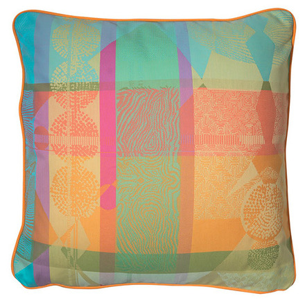 "Mille Tingari Austral Cushion Cover 16""x16"", Cotton-2ea picture"