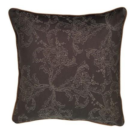 "Mille Eternel Ebene Cushion Cover 16""x16"", Cotton-2ea picture"