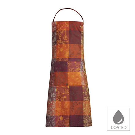 "Mille Alcees Feu Apron 30""x33"", Coated Cotton picture"