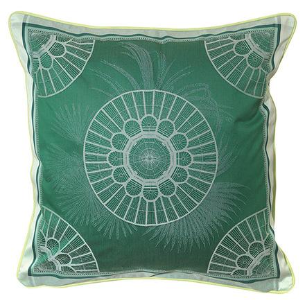 Serres Royales Vert Empire Cushion Cover , Cotton-2ea picture