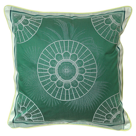 Serres Royales Vert Empire Cushion Cover , Cotton-2ea picture