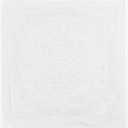 Napkins Beauregard White, Cotton - 4ea picture