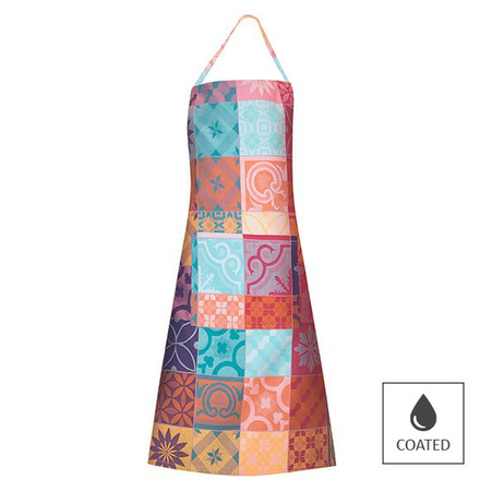 Mille Tiles Multicoloured Apron, Coated picture