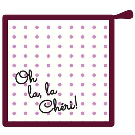 Oh La la Cherie Pourpre Pot Holder picture