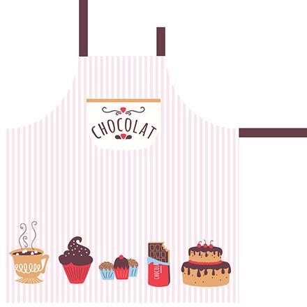 Le Chocolat Chaud Apron picture