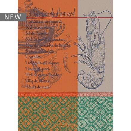 "Bisque de Homard Rust Kitchen Towel 22""x30"", 100% Cotton picture"